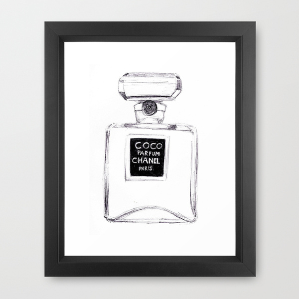 Chanel Art Print @ Society 6