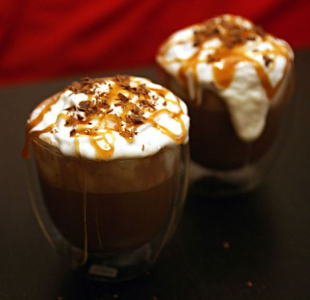 Adults Only - Salted Caramel Hot Chocolate Float