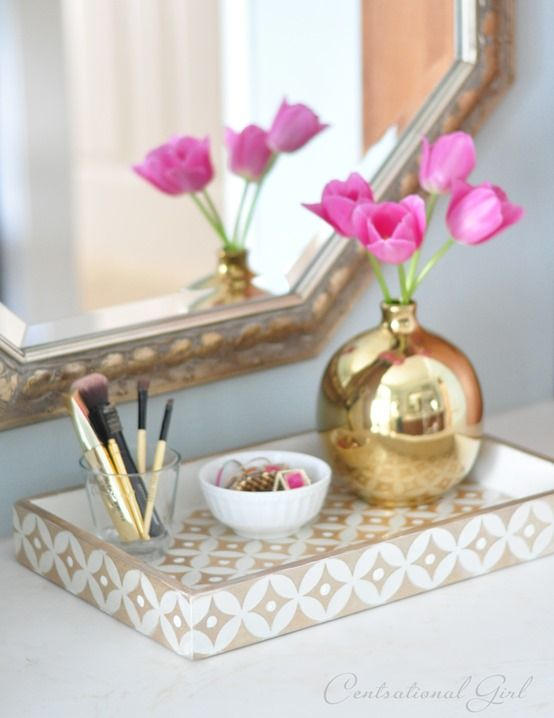 Styling 40 Tray Chic Jeanne Campana Design Inspiration Decorative Trays For Bedroom
