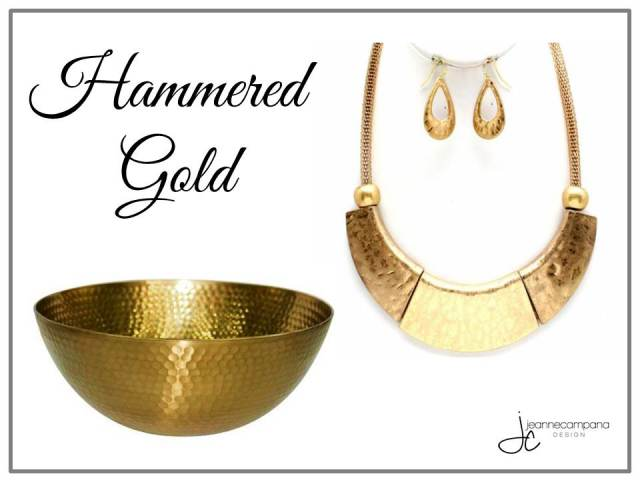 Fab Finds - Fashion - Hammered Gold