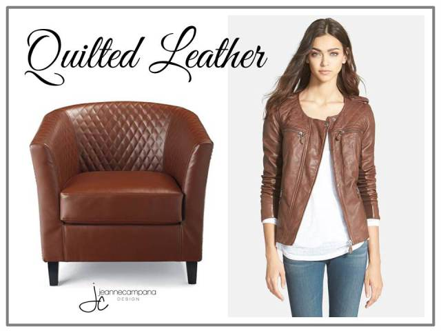 Fab Finds - Fashion - Quilted Leather