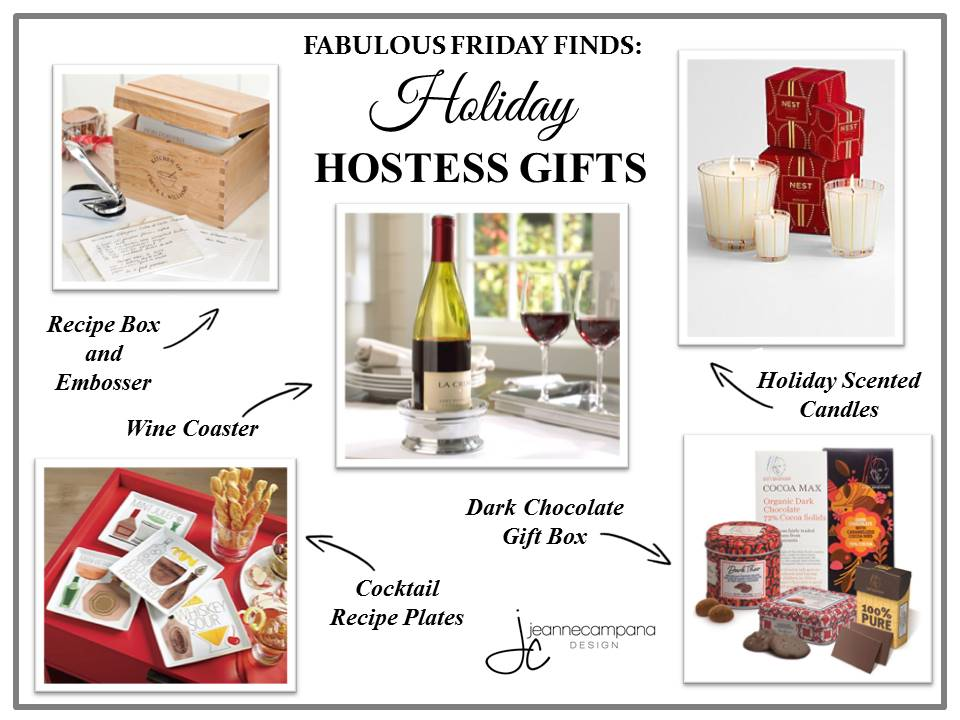Fabulous Friday Finds: Holiday Hostess Gifts