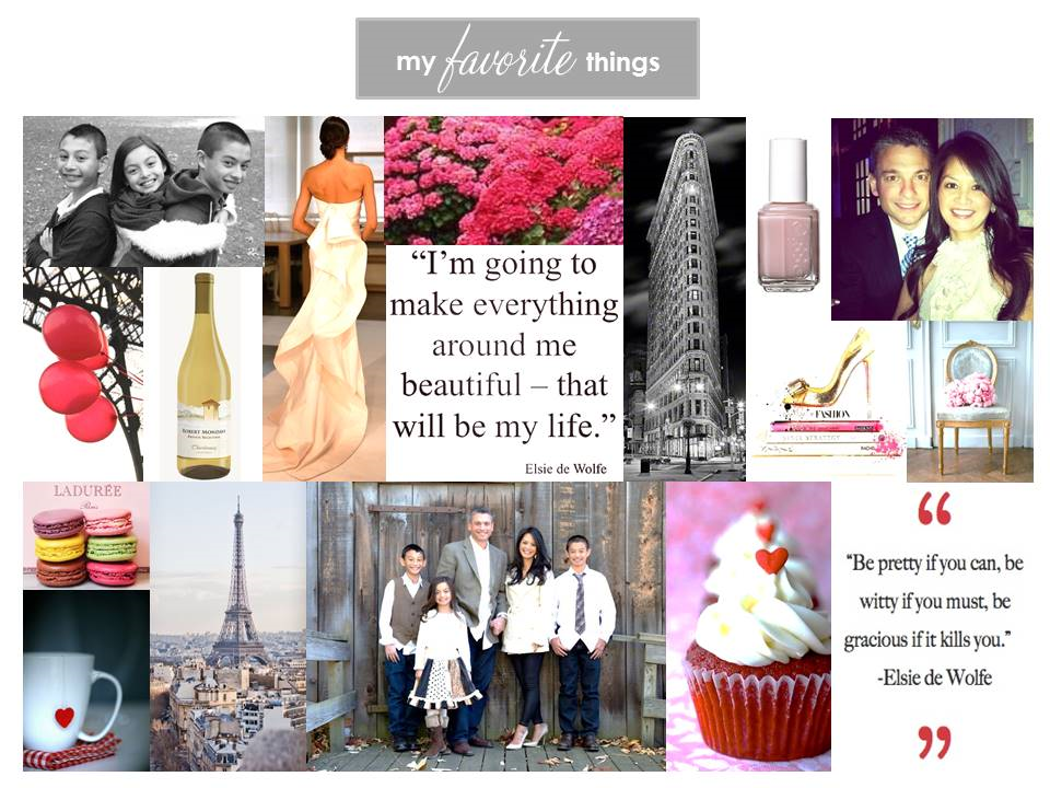 Jeanne Campana Favorite Things