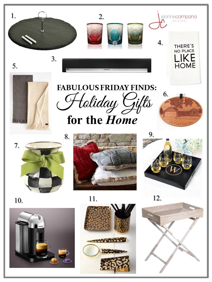 Holiday Gift Guide for the Home 2014