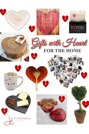 Gifts with Heart for the Home