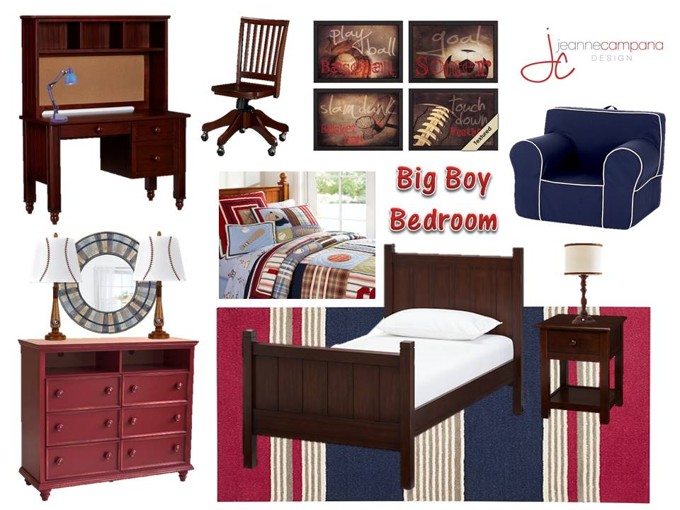 Big Boy Bedroom