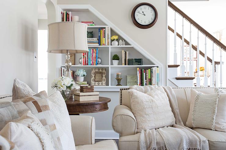 Timeless Neutral Living Room 7