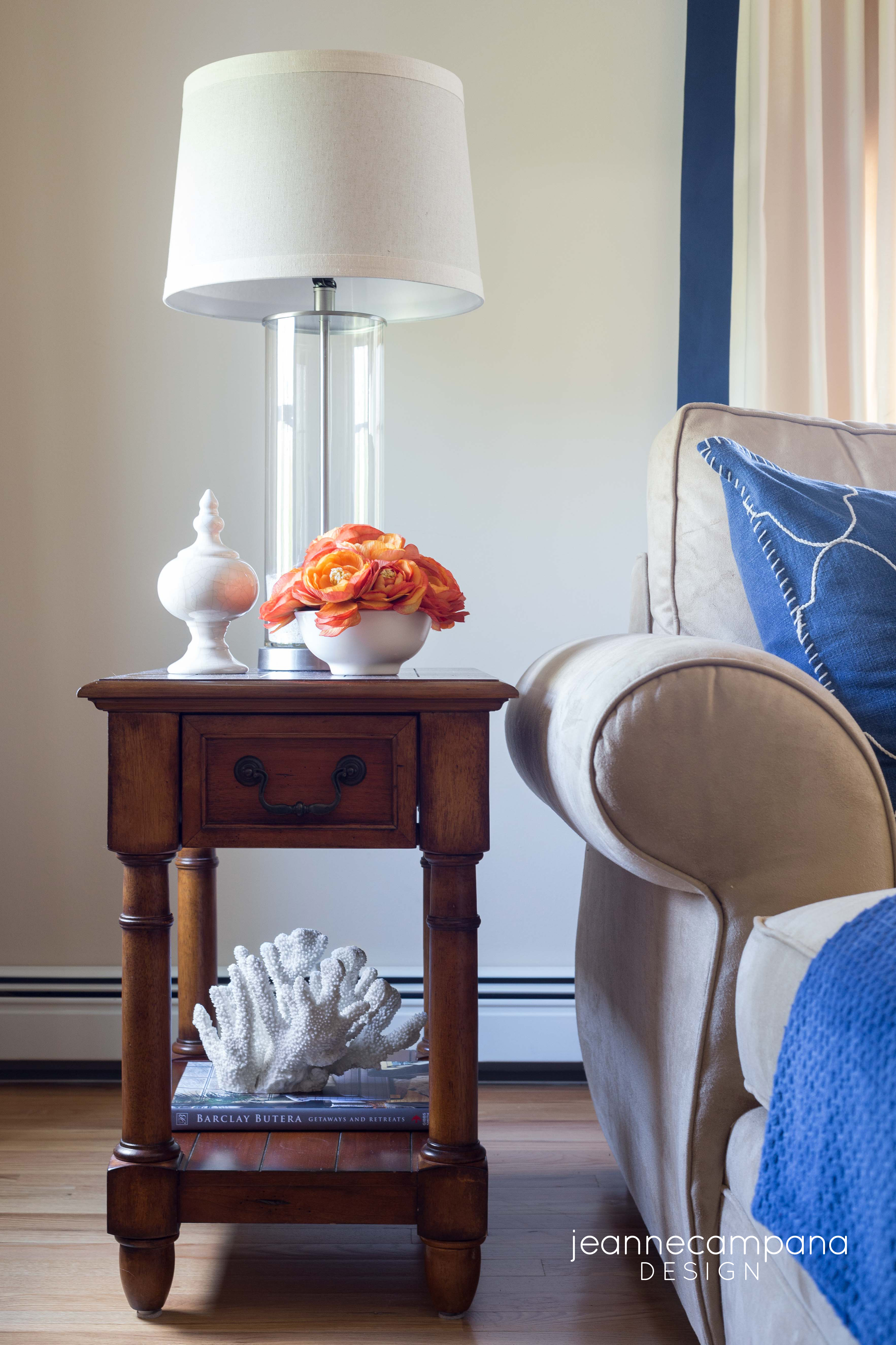 Before And After Coastal Family Room Makeover Jeanne