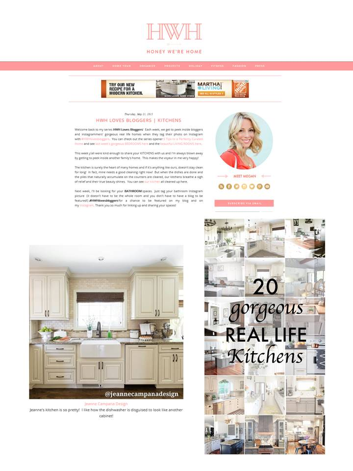 Feature - HWHlovesbloggers - Kitchens - instagram photo