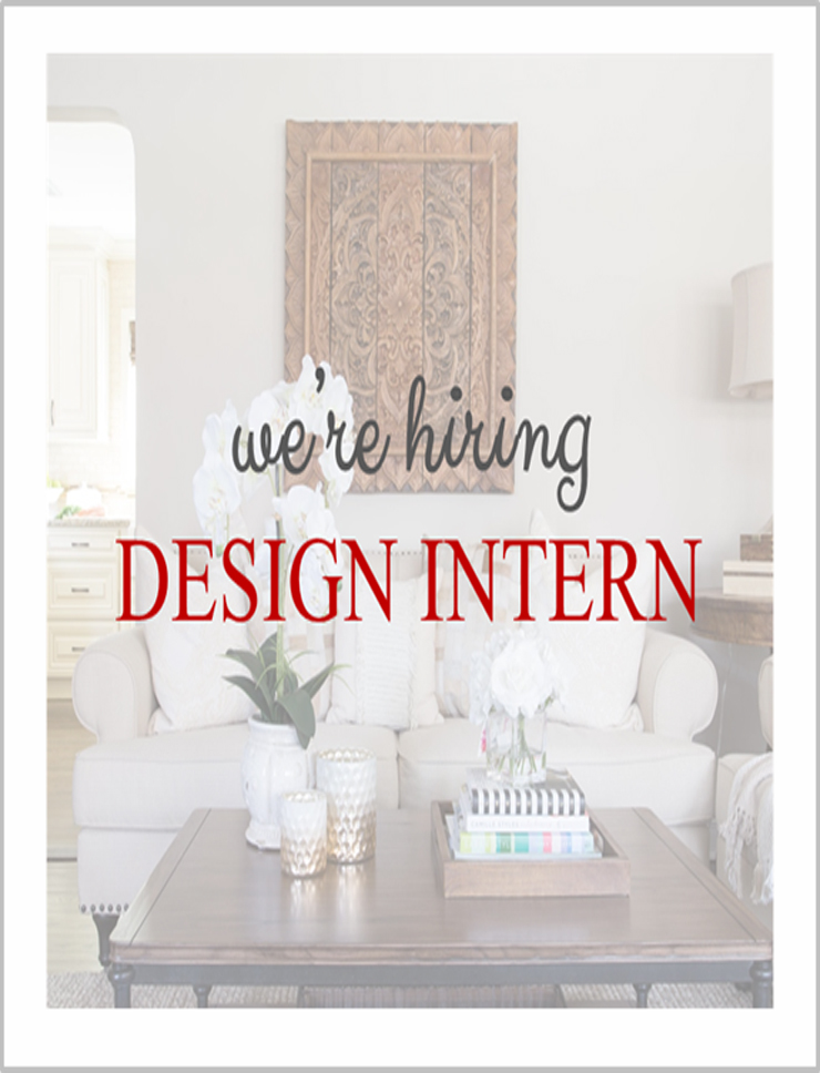 Design Intern Ad - Jeanne Campana Design 740