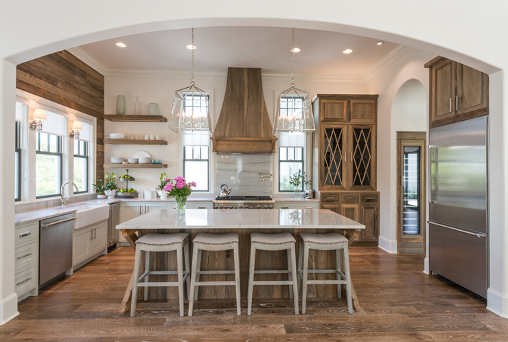 Modern Farmhouse Kitchen Inspiration Jeanne Campana Design