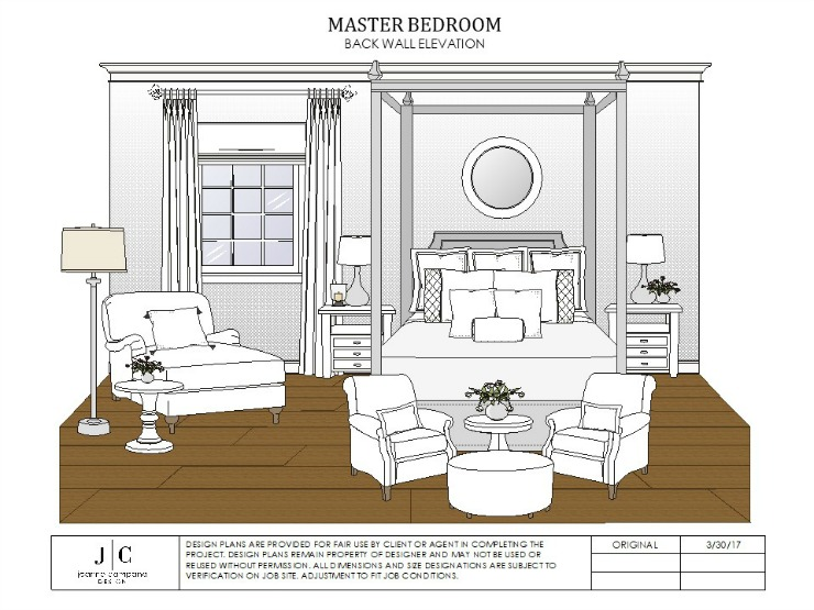 Progress Spruce Avenue Master Bedroom Jeanne Campana Design