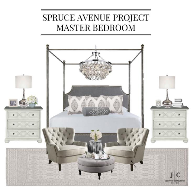 Progress: Spruce Avenue Master Bedroom