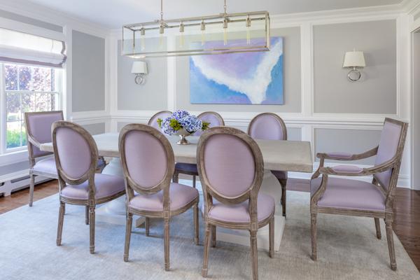 Jeanne Campana Design_Deer Run Dining Room