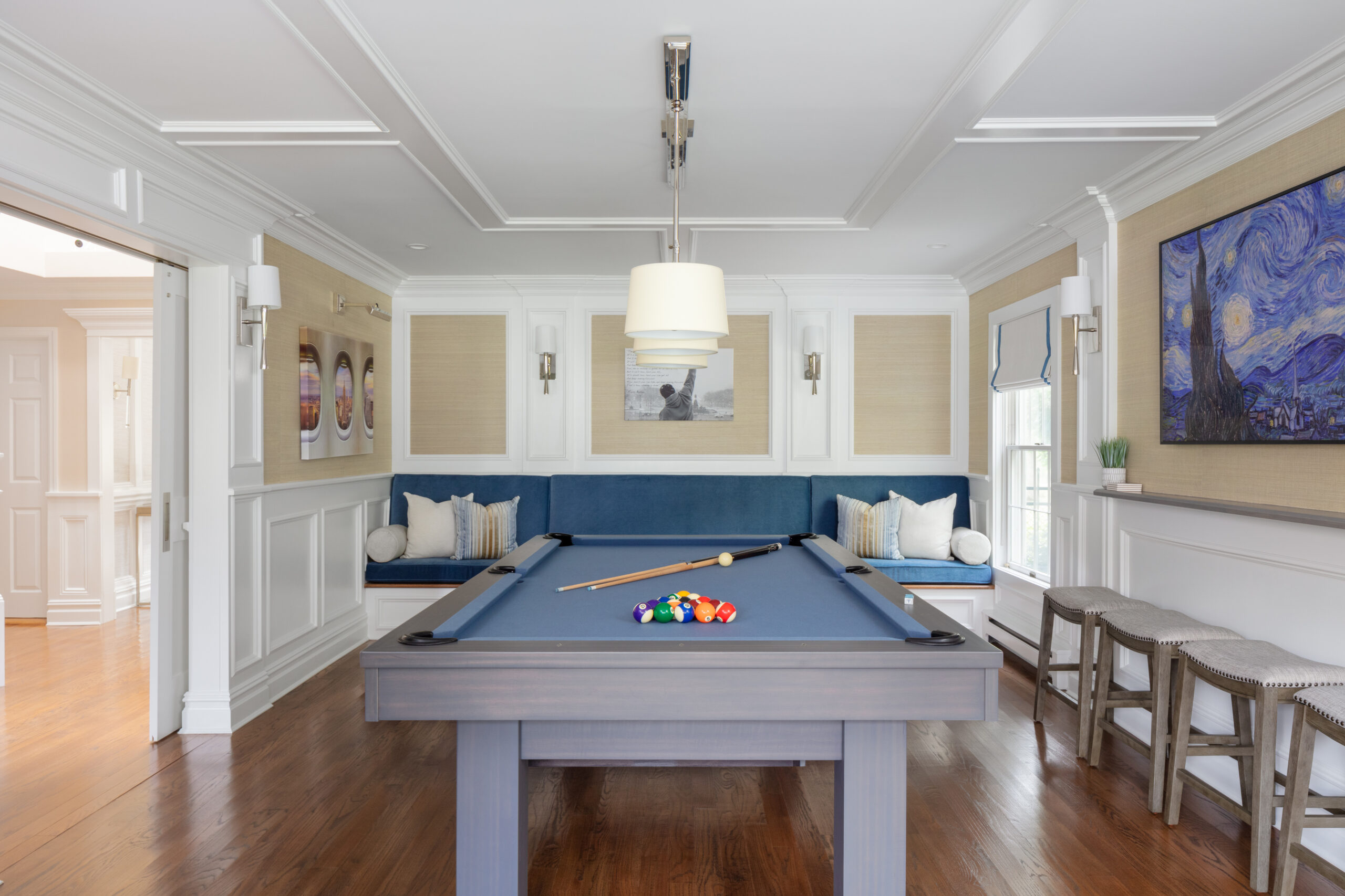 Blue Billiard Room